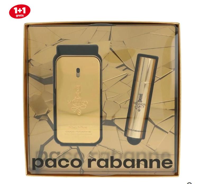 Paco Rabanne 1 Million Geschenkset voor €26,50 ( 60 ML totaal)