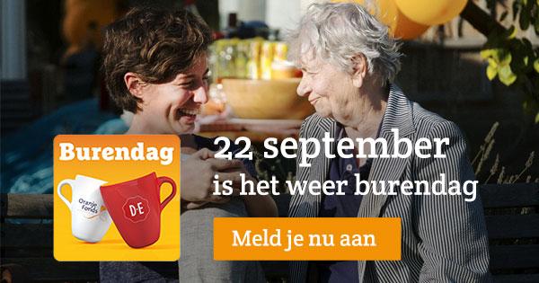 gratis Burendag feestpakket @ DE + Oranje Fonds