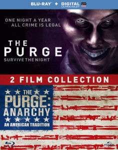 The Purge + The Purge: Anarchy (Blu-ray) voor €15 @ Zavvi