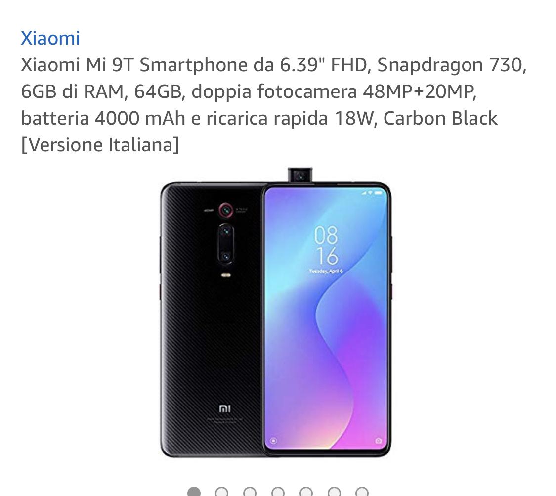 Xiaomi Mi 9T 64GB €329