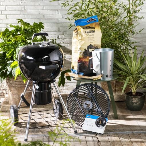 Napoleon Kettle houtskoolbarbecue met gratis accessoire pakket @Intratuin