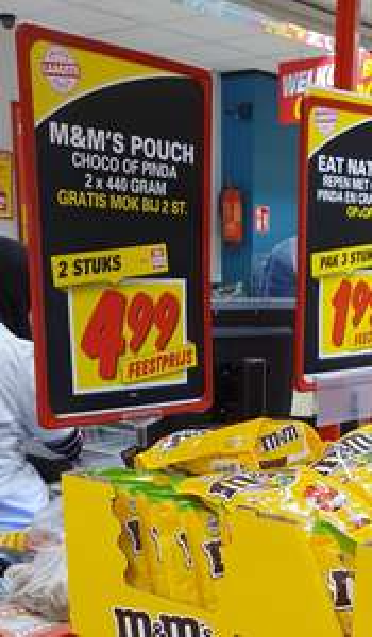 2 Zakken M&M's Maxi zakken plus Mok voor €4,99 (Nettorama)