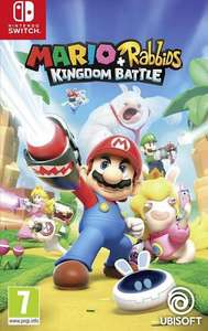 Switch - Mario + Rabbids kingdom battle Ubisoft
