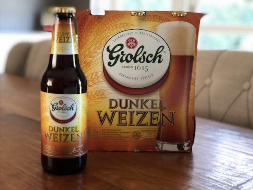 3 flesjes Grolsch Dunkelweizen voor €1 [Drenthe, Twente, Gelderland]