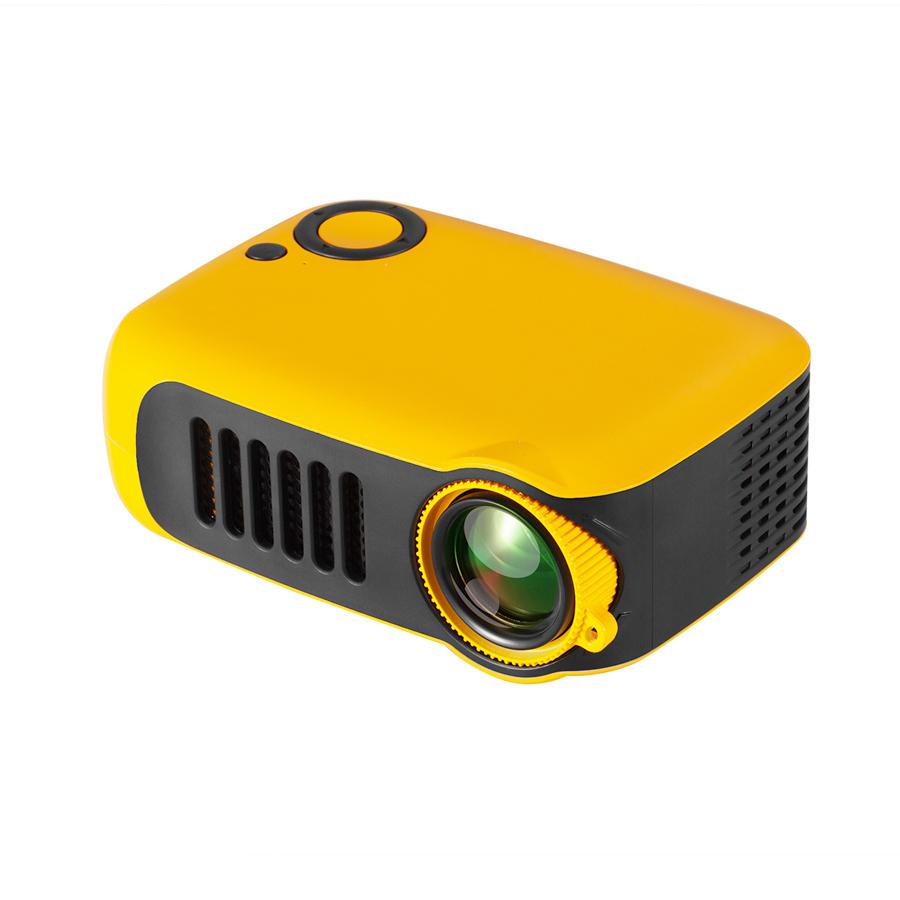 TRANSJEE A2000 Projector 800 Lumens 1000: 1 Contrast Ratio 320 * 240P Eigen resolutie Ondersteunde 1080P