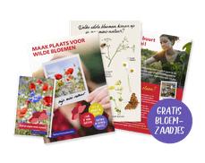 Gratis wilde bloemen actiepakket