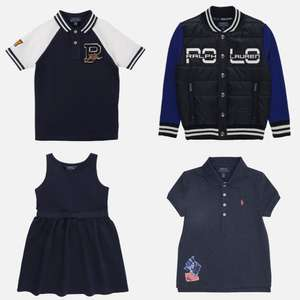 Polo Ralph Lauren kids tot -72% + 10% extra met code @ About You