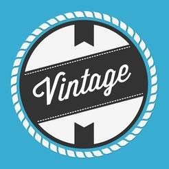 Gratis app Appstore Vintage Logo Maker & Creator
