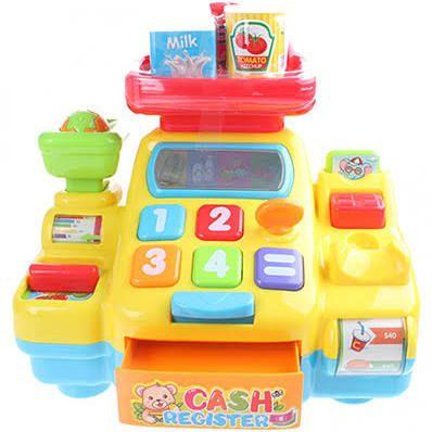 Toi-Toys Speelgoed Kassa met licht en geluid €9,95
