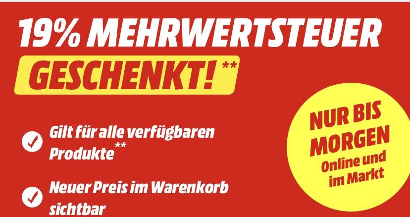 [GRENSDEAL] BTWDAGEN Mediamarkt.de
