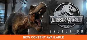 Jurassic World: Evolution park-builder sim voor €13,50 @ Steam