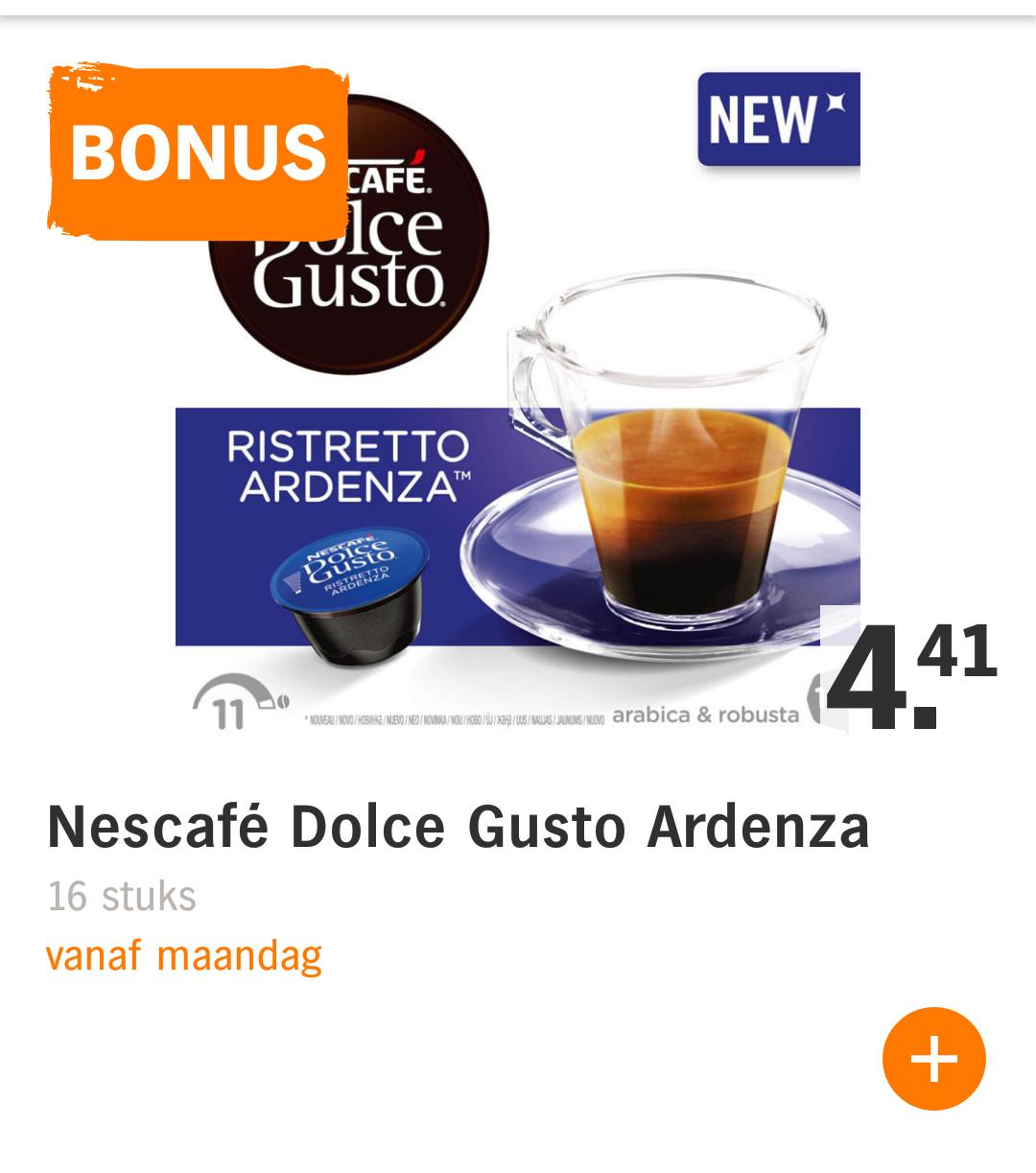 50% korting op onder andere Nescafe Dolce Gusto (nieuw-Leusden)