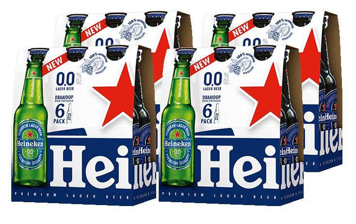 €3 cashback op Heineken 0.0