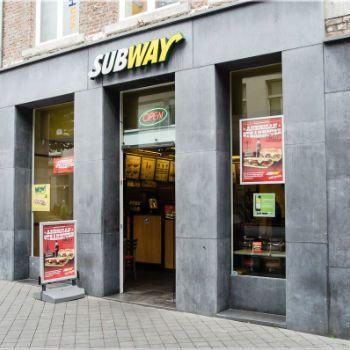 Subway Maastricht 2 broodjes, 2 frisdrank en 2 koekjes voor €7,50