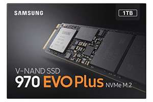 Samsung 970 Evo Plus M.2. SSD 1TB NVMe @Amazon.de