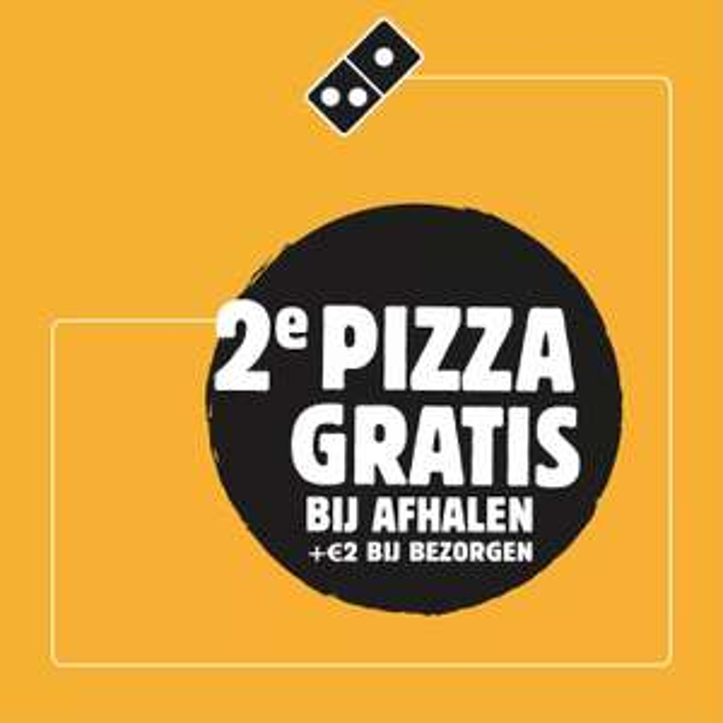 2e pizza gratis Domino's