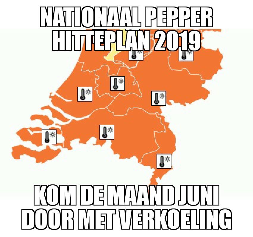 Deals om de hitte te overleven | Nationaal Pepper Hitteplan 2019