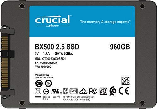 Crucial BX500 960GB SSD @Amazon.de