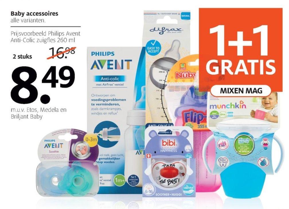 (1+1 gratis) Alle Baby accessoires @Etos