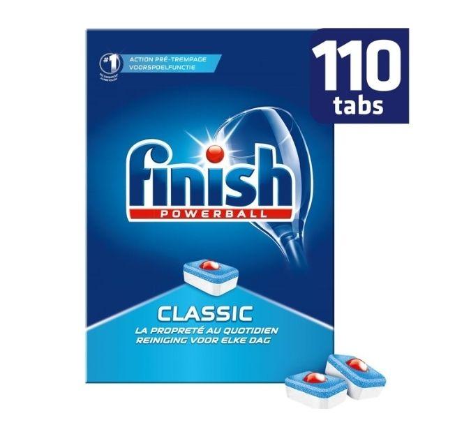 Finish Classic vaatwastabletten 110 stuks bij Bol.com