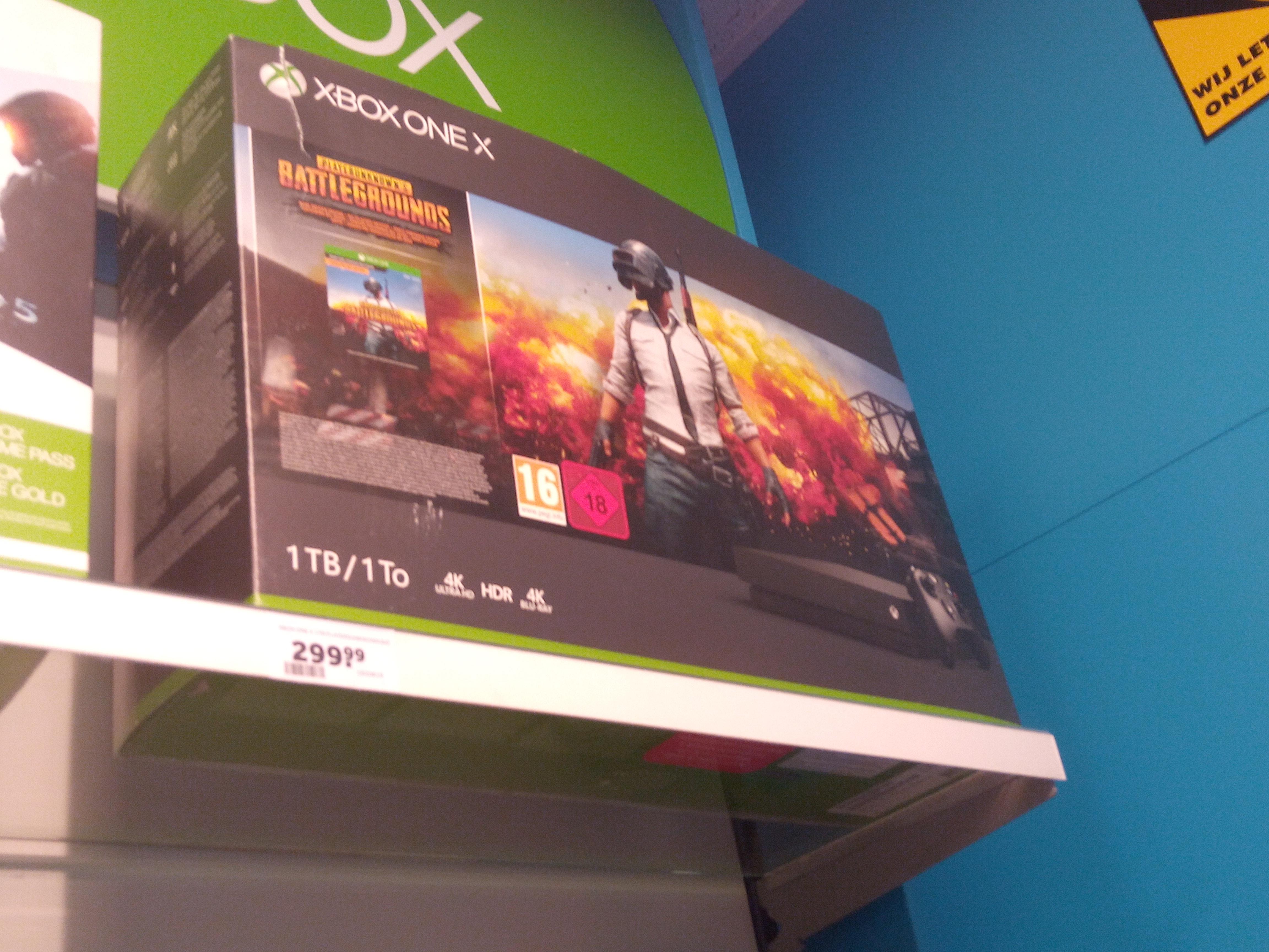 Xbox one x + player unknown battle ground @Intertoys