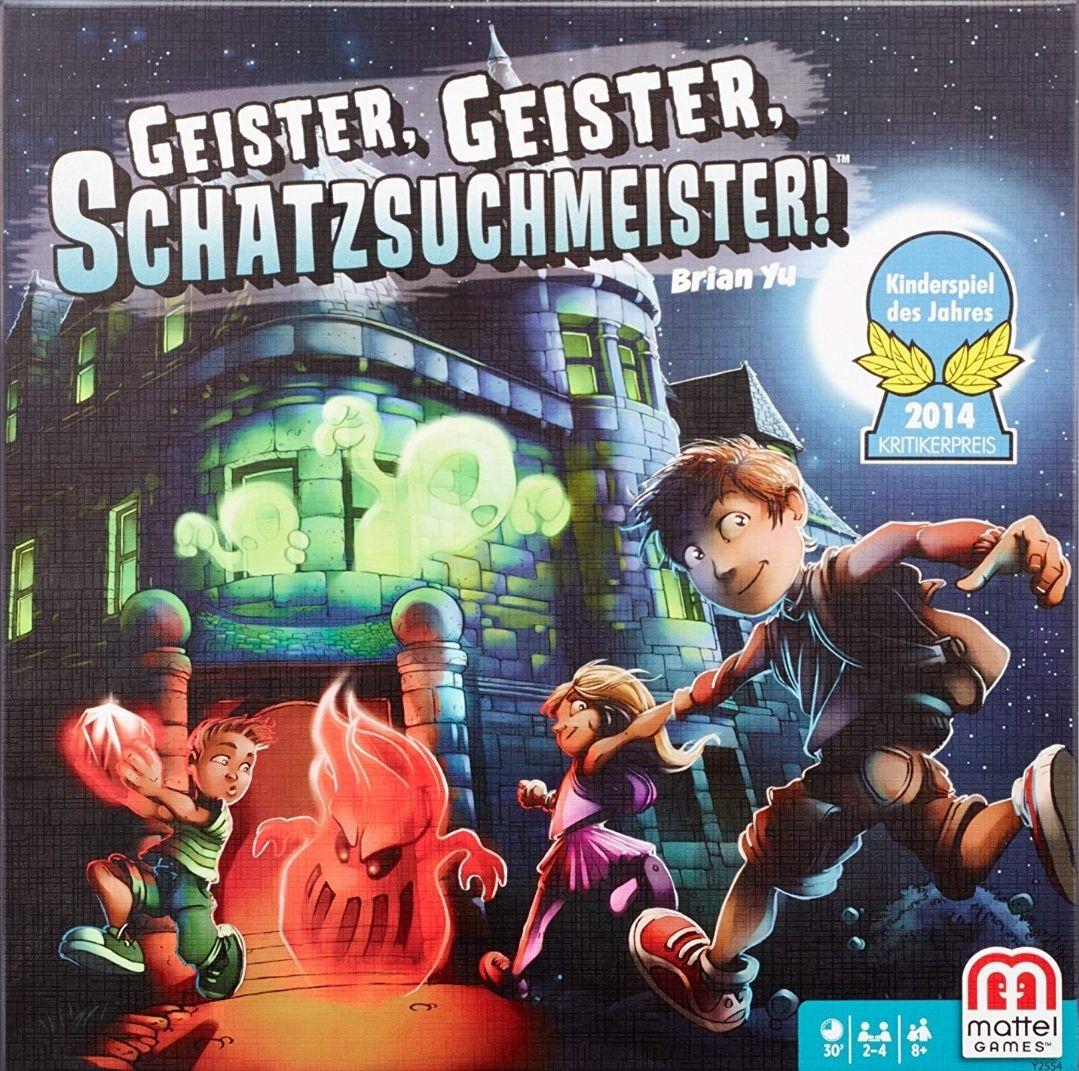 Geister, Geister, Schatzsuchmeister! (Schatzoekers in het Spookhuis) bordspel voor €21,77 (excl. €3,49 verzendkosten) @ amazon.de