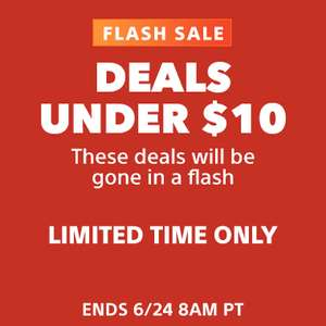 Flash Sale: Deals Under $10 @ PlayStation Store US