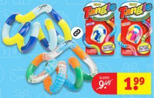 Tangle fidget speeltje €1,99 @ Kruidvat