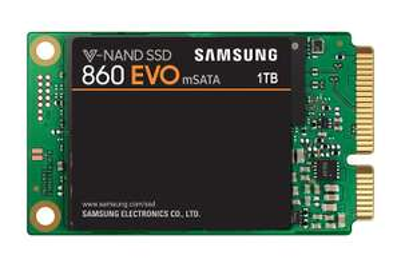 Samsung 860 EVO 1TB MSATA SSD voor €100,- i.p.v. €160