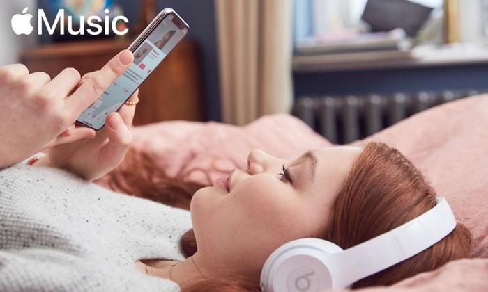 Gratis 4 maanden Apple Music via Groupon!