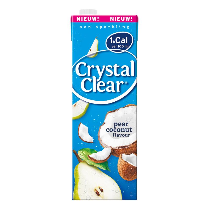 Probeer nu gratis via Cashback! | Pear Coconut van Crystal Clear