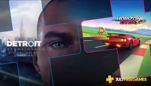PlayStation Plus games voor juli (Detroit, Heavy Rain + Horizon Chase Turbo)