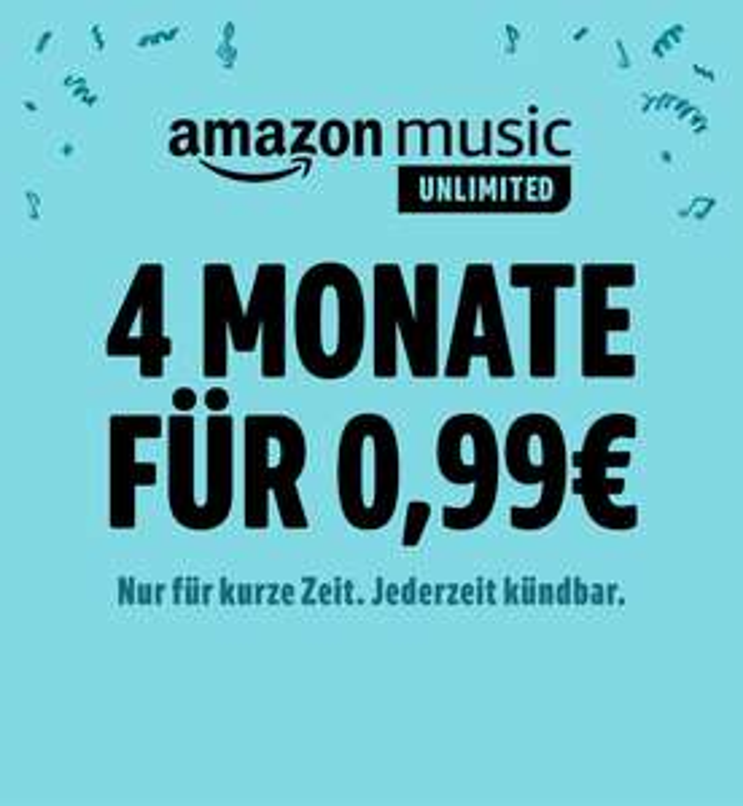 [Prime] 4 maanden Amazon Music Unlimited voor nieuwe leden