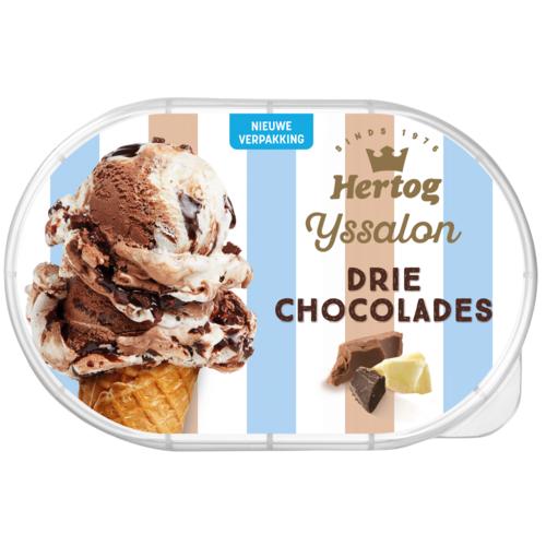 Hertog ijs alle soorten 1 + 1 gratis @Dirk