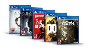 Bethesda pakket met 5 PS4 games voor €19,98