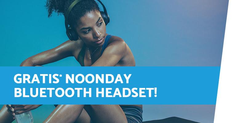 Gratis Noonday BT Headphone SPORTCITY Wireless editie bij besteding van €50 @ Directsale