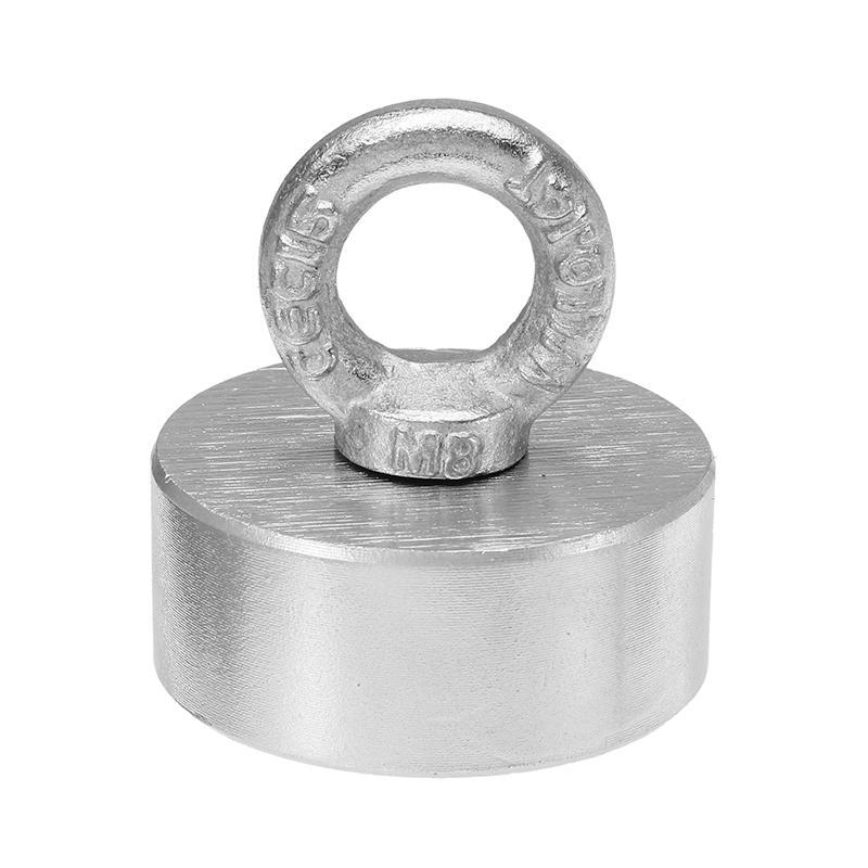 300kg 60x25mm Neodymium magneet voor bv magneetvissen