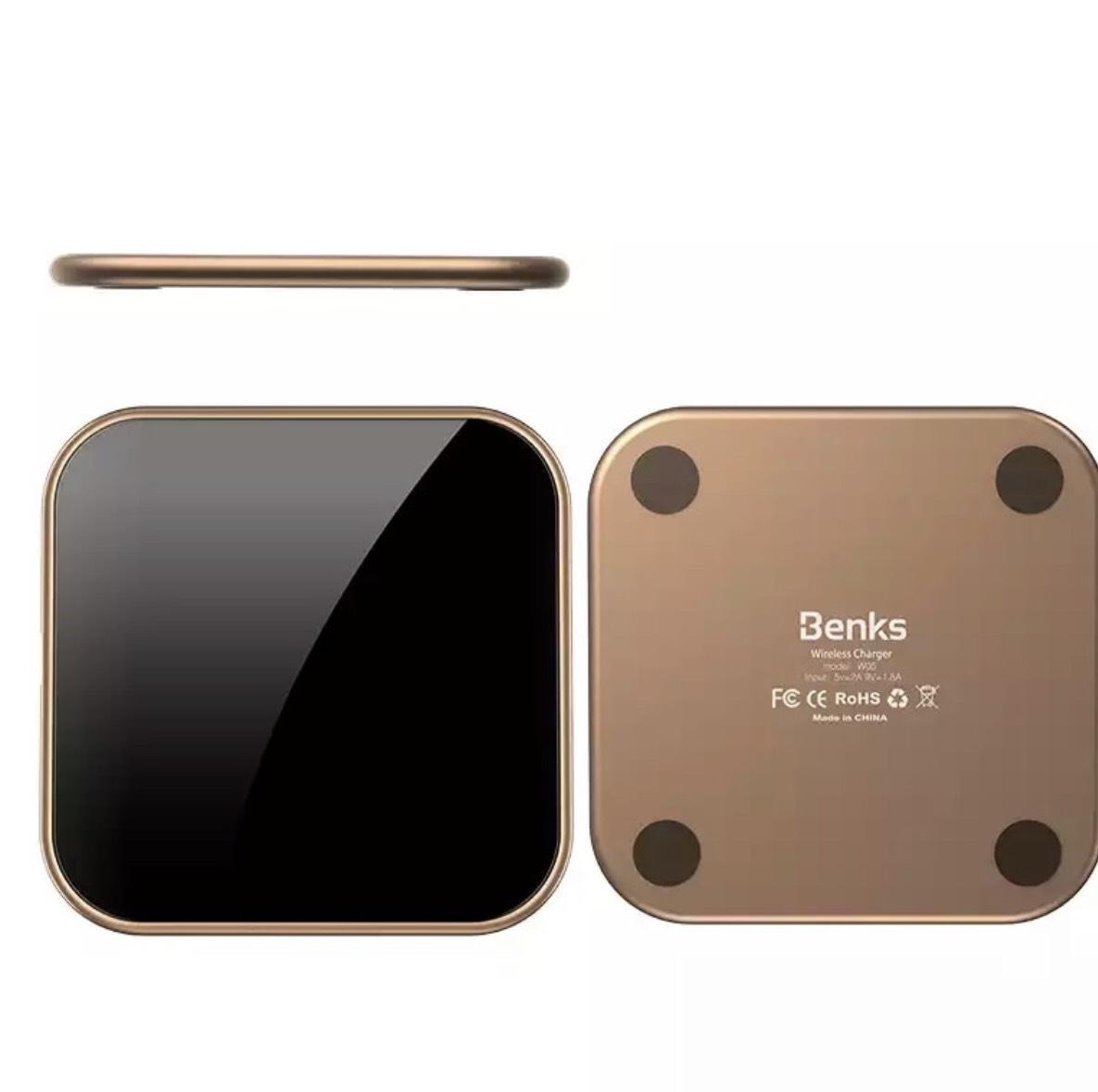 Draadloze QI oplader 7,5w voor iPhone 10w voor Samsung @AliExpress