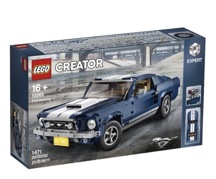 [GRENSDEAL BELGIË] LEGO Creator Expert 10265 Ford Mustang