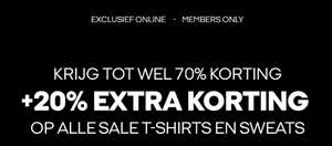 20% EXTRA korting op sale T-shirts & sweats (tot -70%) @ Jack & Jones