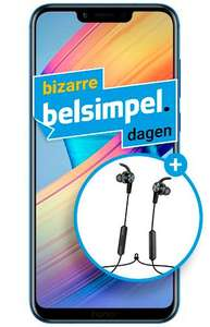 Honor Play Blauw + Honor AM61 Bluetooth Headset @ Belsimpel
