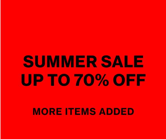 Nu tot 70% Korting op de Weekday Sale!