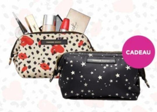 [ActieFoutje] Gratis Fabienne Chapot beauty bag bij besteding vanaf €9,59 i.p.v. de oorspronkelijke €25,- @Ici Paris XL
