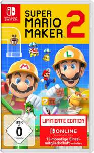 Super Mario Maker 2 + 12 maanden online Switch lidmaatschap (Limited Edition)