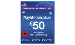 €50,- Playstation network tegoed voor €43,19 @Groupon.de