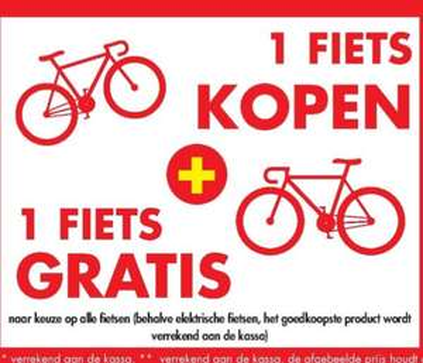 [Grensdeal België] 120gb SSD voor €5, 240gb €10, 480gb €15 & fietsen 1+1 gratis