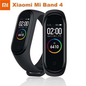 "Original Xiaomi Mi Band 4 Standard Version Smart Bracelet Mi Band4 Wristband Fitness Tracker 0.96"" AMOLED Screen 5ATM Waterproof"