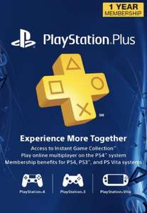 [Amerikaans] Playstation Plus 12 maanden
