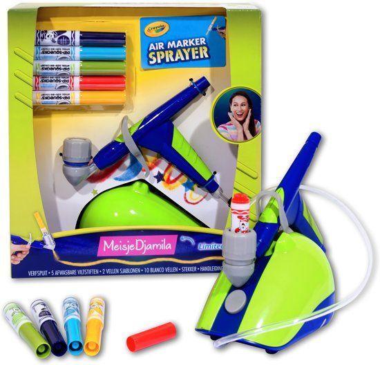 Crayola Air Marker Sprayer Meisje Djamila @bol.com