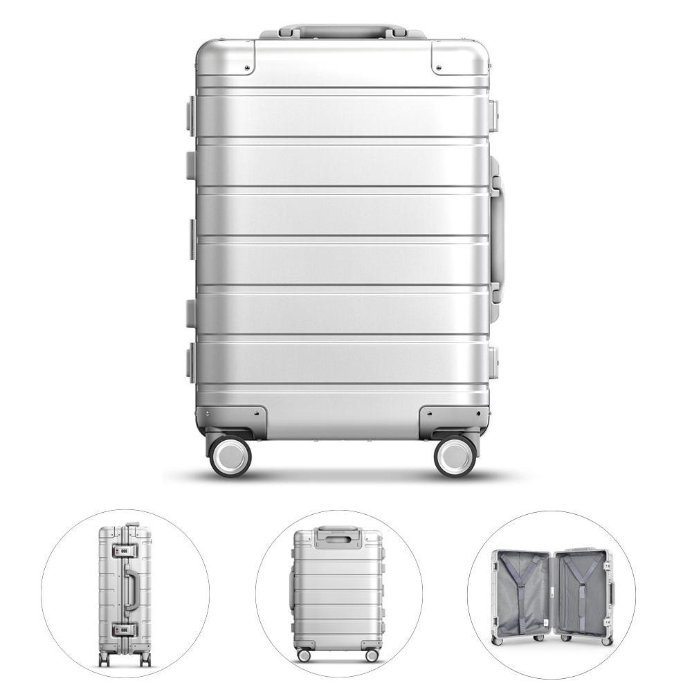 Xiaomi 90FUN 20inch Reiskoffer 31L Aluminium TSA Lock Spinner Wheel handbagage Case
